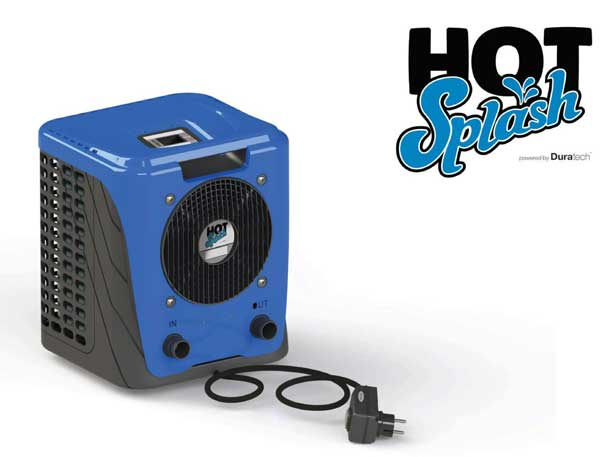 Hot Splash 3.35kw Plug and Play Pool Heat Pump for Above Ground Pools up to 10m3 - UK Plug
