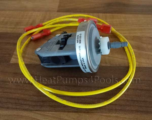 Aquacal Heat Pump Water Pressure Switch ECS6248