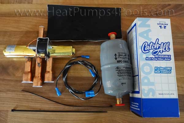 "Aquacal Heat Pump Reversing Valve Kit RES0002 1/2"" x 7/8"" 6T"