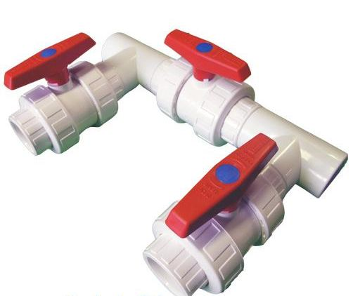 2 Bypass Kit For Heat Pumps White 2 Bypass Kit For Heat