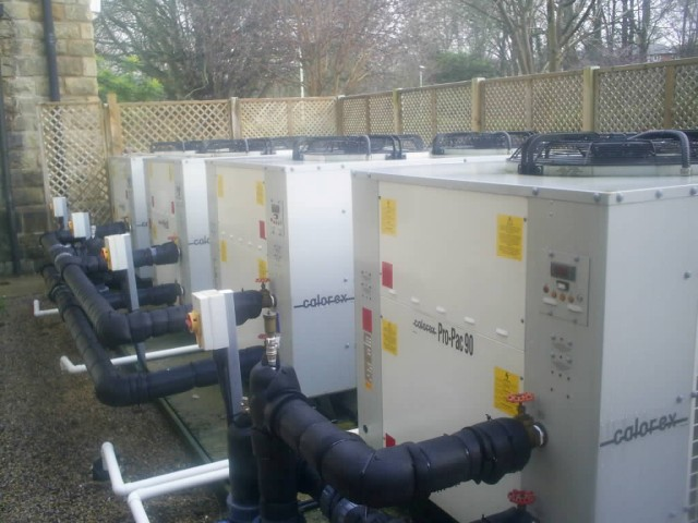 SOLD: Calorex Propac 90 kw PP(Z)90BMY All Season High Temp Heat Pumps