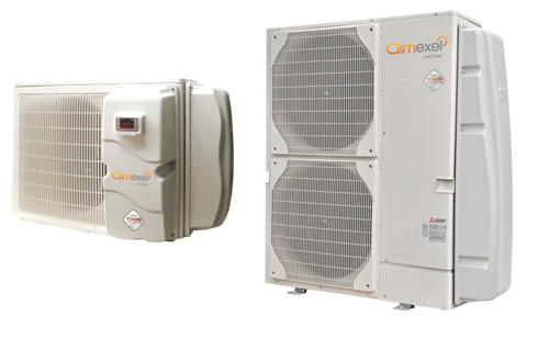 Climexel Mitsubishi Power Inverter Swimming Pool Heat Pumps