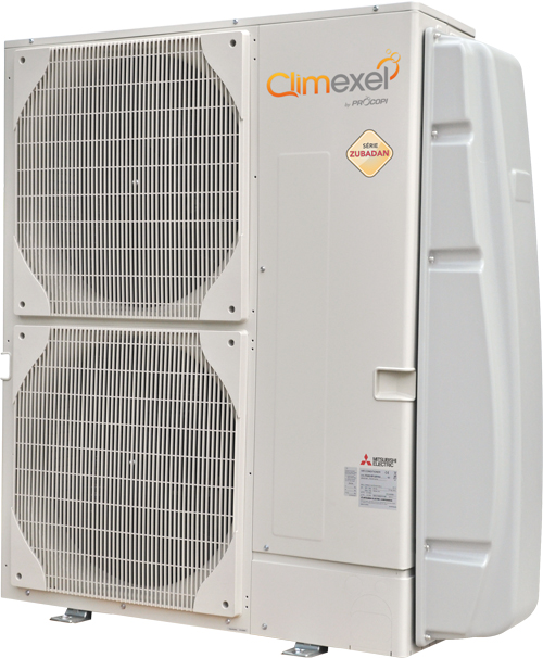 Climexel Mitsubishi Zubadan Inverter Swimming Pool Heat Pumps