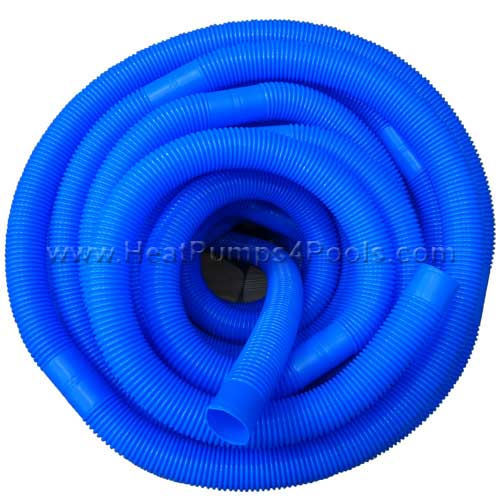 "1.5"" (38mm) Swimming Pool Flexible Vacuum Hose White - 1m lengths"
