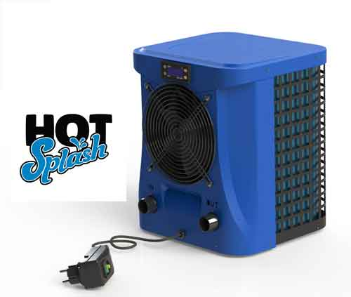 Hot Splash 2.4kw Plug and Play Pool Heat Pump for Above Ground Pools up to 8m3