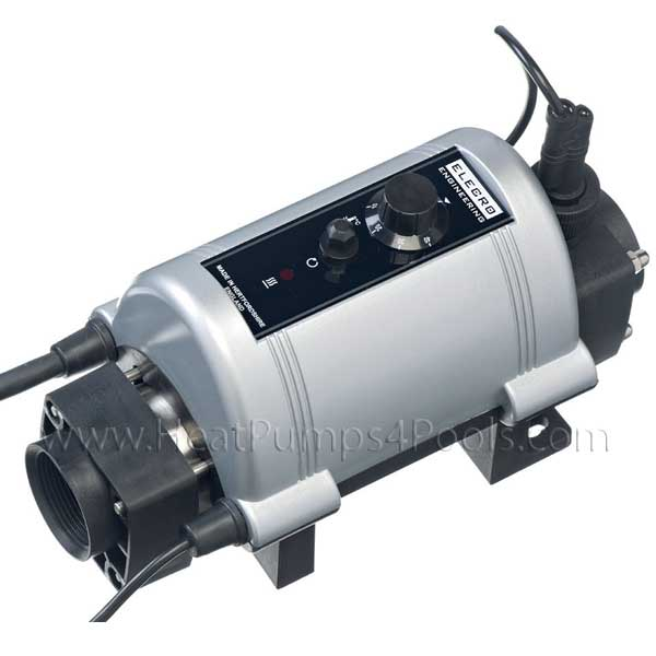 Nano Titanium Electric Plug and Play Pool Heaters 1-6Kw