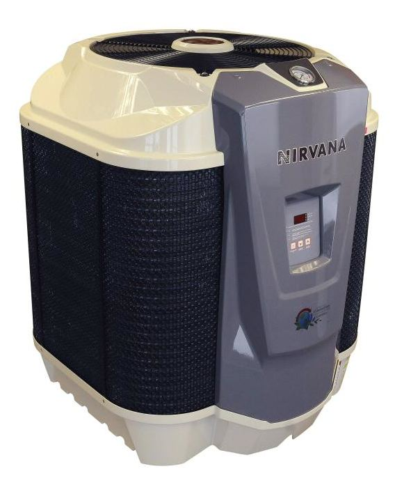 Nirvana 19kw S65 Single Phase Swimming Pool Heat Pump