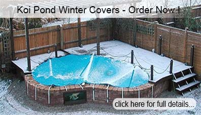 Koi Pond Winter Covers