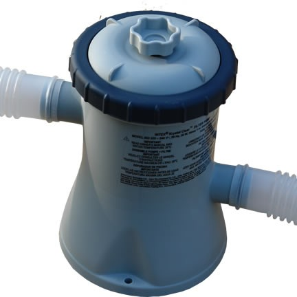 Intex Cartridge Pool Pump / Filter for 8' to 10' Pools (1.1m3/hr)