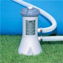 Intex Cartridge Pool Pump / Filter for 8' to 12' Pools (1.8m3/hr)