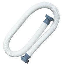 "Intex Accessory Hose 1.5m x 1.5"" diameter with Intex 2"" Grey Nut"