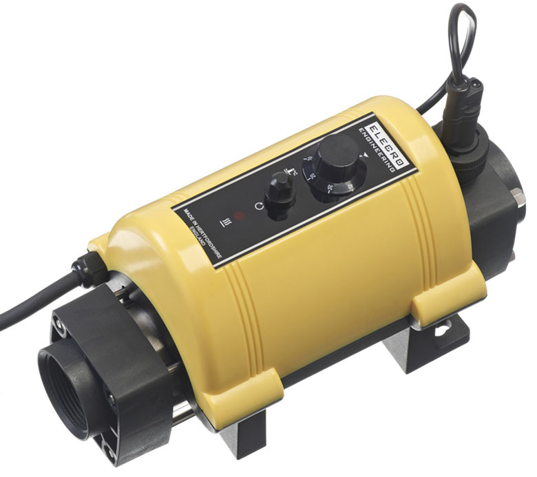 Vulcan Nano Incoloy 3kw Electric Plug and Play Pool Heater - pools up to 9m3