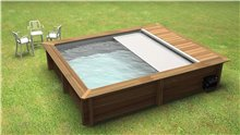 Wooden Above Ground Swimming Pools