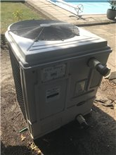 Used Heat Siphon Z5.75hp50 29kw, Single Phase, Digital Controls - Swimming Pool Heat Pump