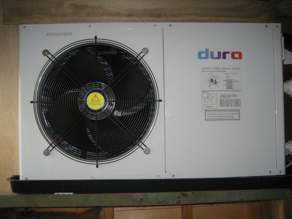 SOLD: Second Hand Dura 10 Pool Heat Pump, Excellent Condiition