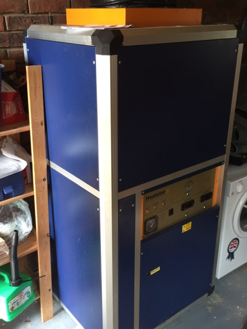 SOLD: Heatstar Orion 100 Super Plus Indoor All in One Unit - Second Hand