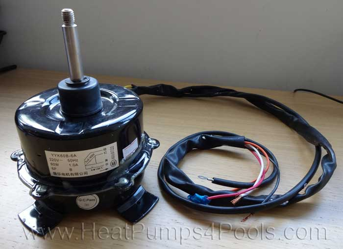 Replacement Fan Motor for Solupiscinas/ VA-WPH/ Eco 7