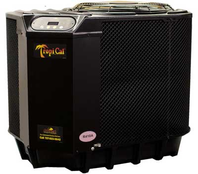 aquacal tropical pool heat pump