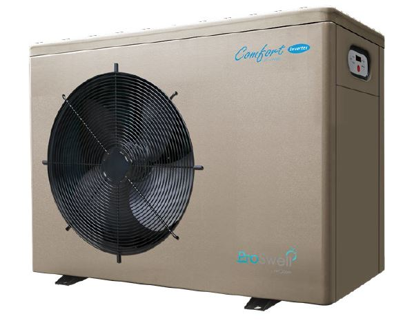 Comfortline Inverter Heat Pumps 5kw To 8kw Pioneer Inverter Horizontal Heatpumps4pools