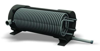 Competition Titanium Heat Exchanger