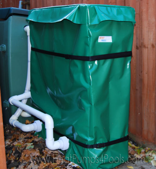 heat pump winter cover example