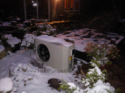 Koi pond heating with heat pumps heatpumps4pools for Koi pond temperature winter