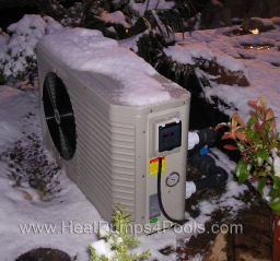 Duratech Dura Plus Heat Pump Heating Koi Pond