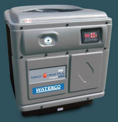 Waterco Swimming Pool Heat Pump - example installation