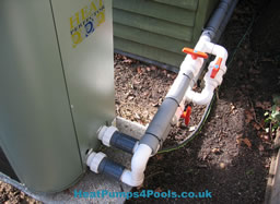 Heat Perfector Pool Heat Pump Heater Plumbing Arrangement Example