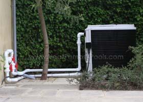 Heat Siphon pool heat pump heater