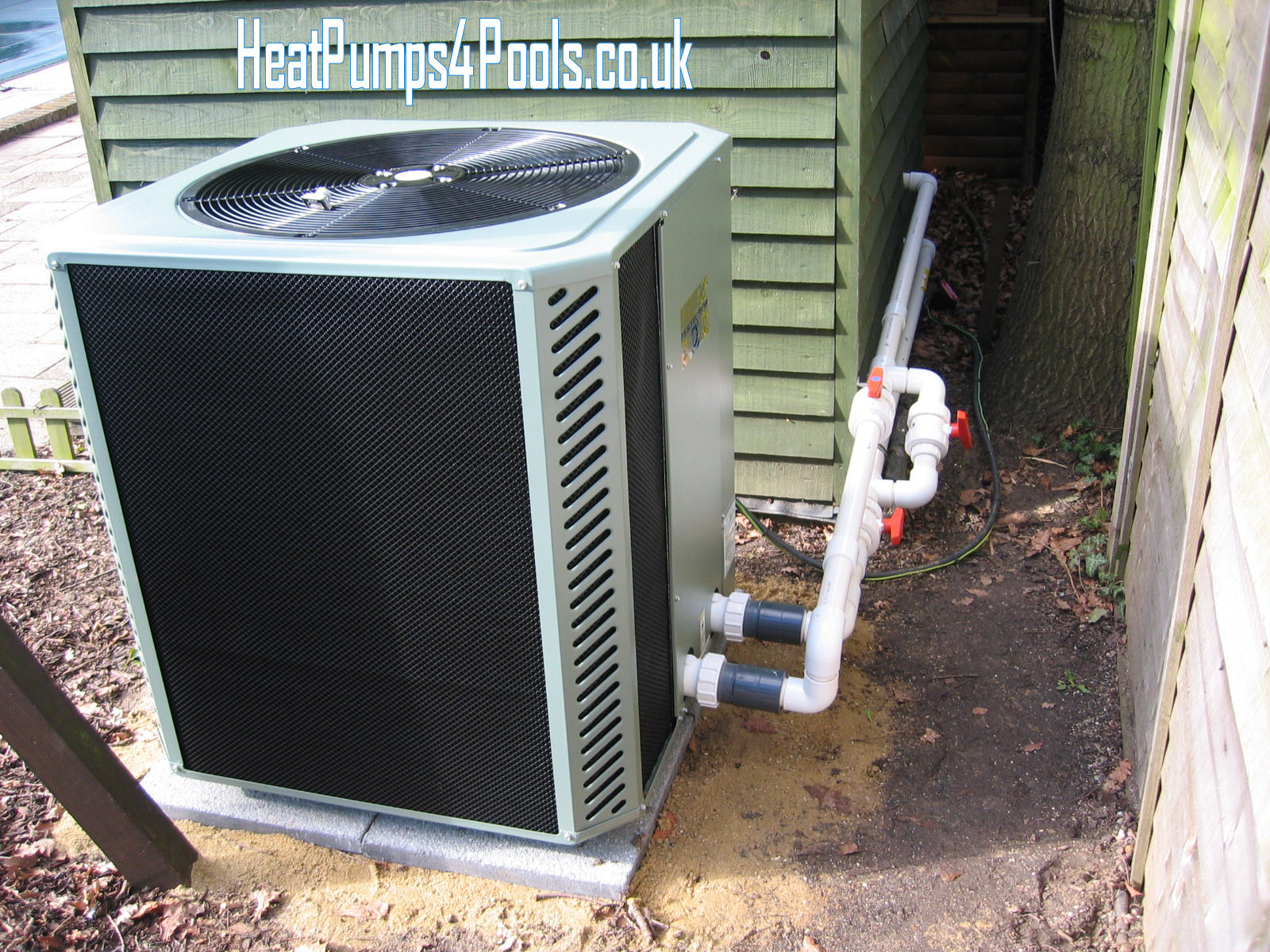 Installation tips heatpumps4pools for Pool heater