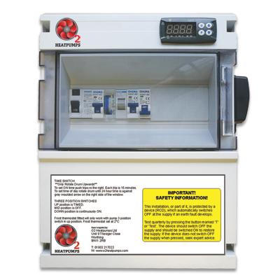 Heat Pump and Pool Pump Electrical Control Box