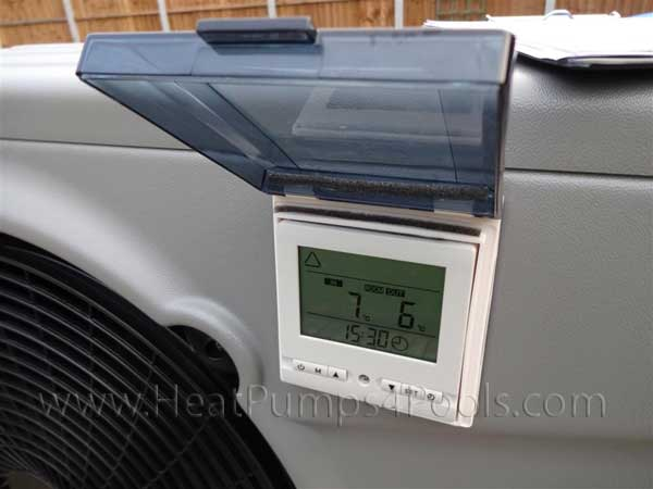 Thermotec Inverter Heat Pump Display