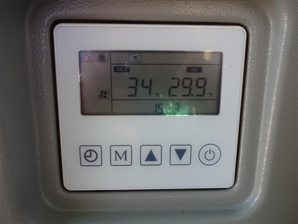 Thermotec Inverter Heat Pump Display