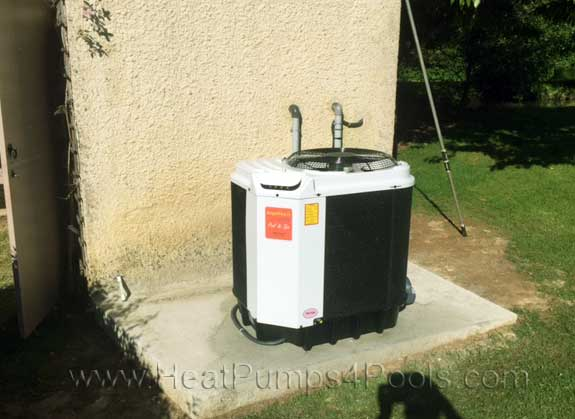 angel fire pool heat pump