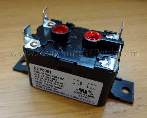 aquacal heat pump fan relay part no ecs0001 ecp0001