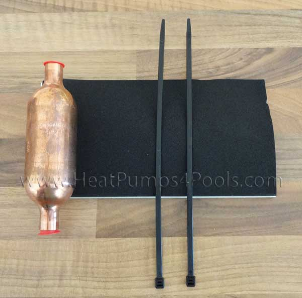 "Aquacal Heat Pump Filter Drier RES2036 1/2"" Spinco Copper"