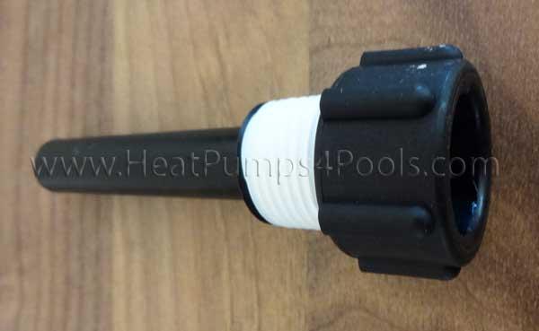 Aquacal heat pump plastic thermostat sensor well stk a