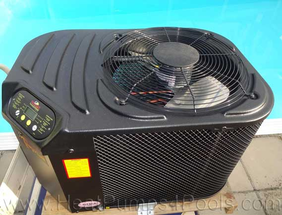 aquacal tropical pool heat pump