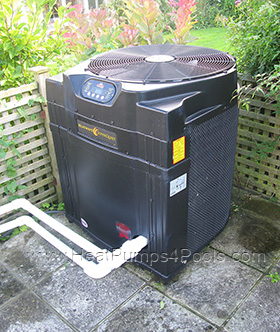 aquacal SQ120 pool heat pump