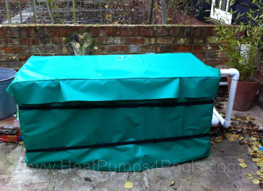 heat pump winter cover example 3