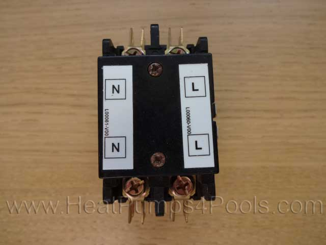 competition pool heat pump contactor