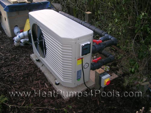 Koi pond heat pump heater duratech dura plus 7kw new ebay for Koi pool heaters