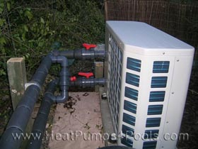 Dura+ Heat Pump on Koi Pond 2