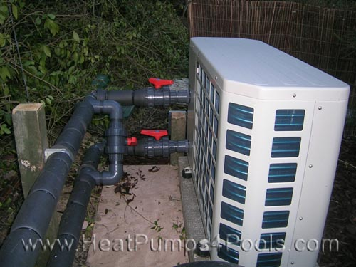 Photo gallery heatpumps4pools for Koi pool heaters