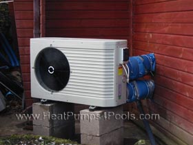Dura+ plus heat pump on indoor pool in Lancashire