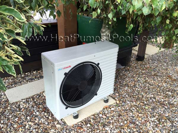 Koi pond heating with heat pumps heatpumps4pools for Koi pool heaters