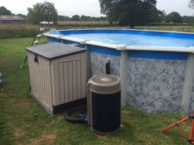 Sunspring Swimming Pool Heat Pump For Above Ground Pools