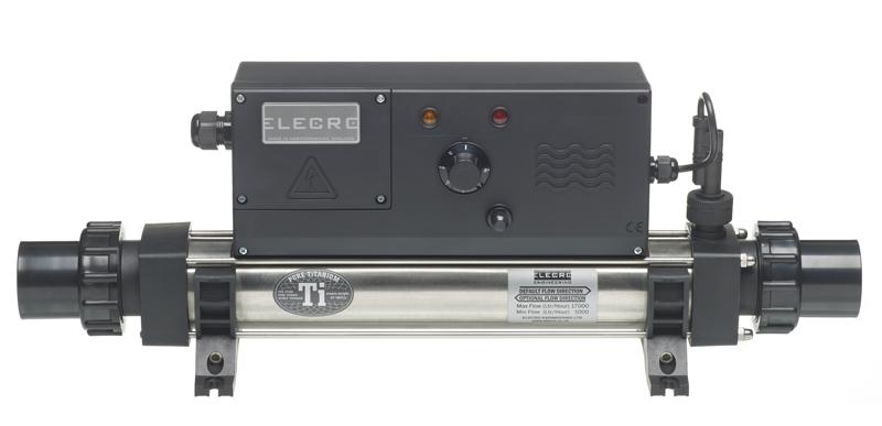 Elecro Evo Electric Pool Heaters Elecro Evo Electric Pool Heaters