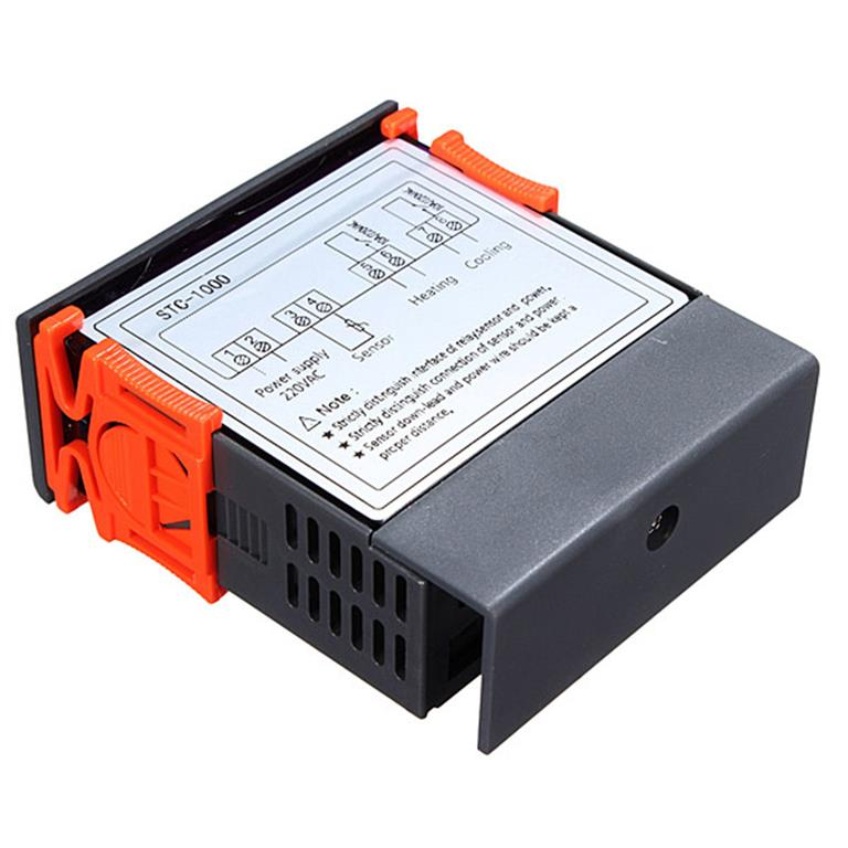 heat pump external digital thermostat